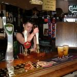 Cheers! My first Dublin pub!