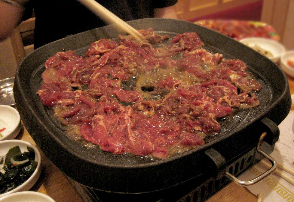 Bulgogi Marinated Beef BBQ
