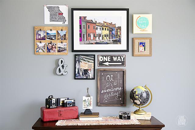 travel themed wall art