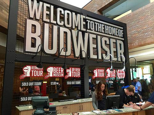 Anheuser-Busch Brewery St. Louis