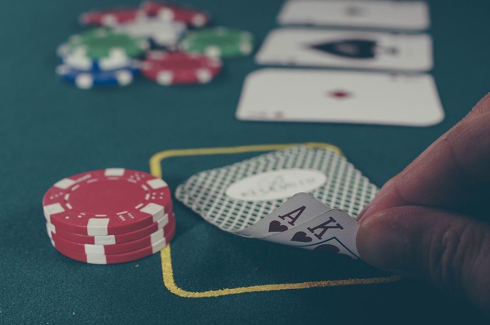 Poker hand AK